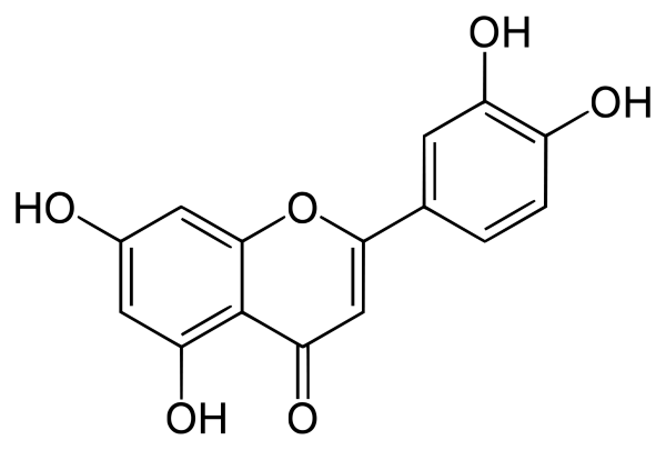 Luteolin structure