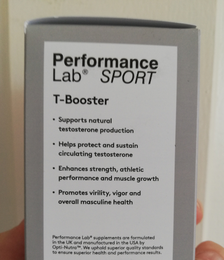 What does Performance Lab T-Booster do?